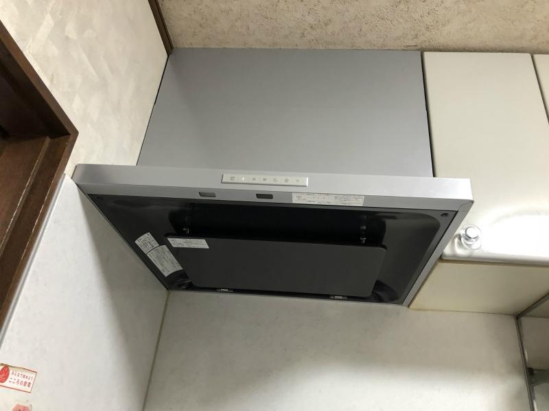 ビルトインコンロ及びレンジフード取替工事 福井市 K.A様邸