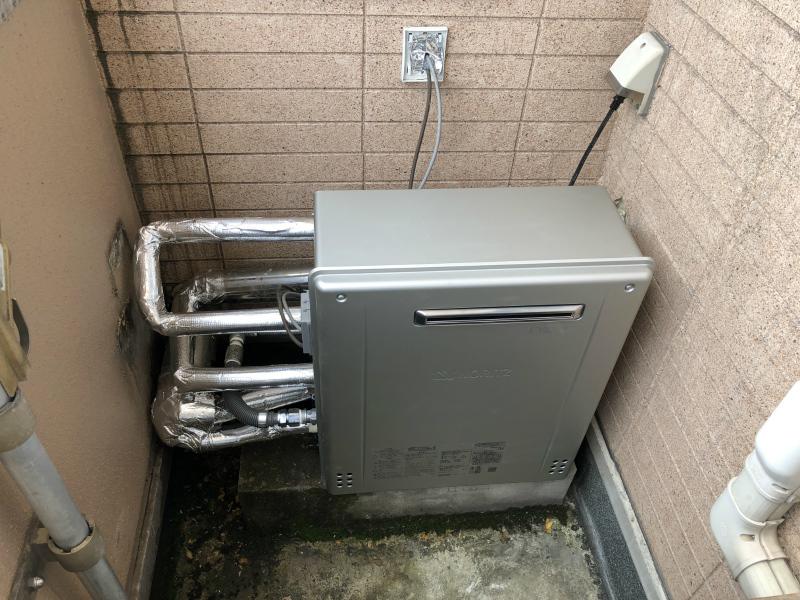 ガス風呂給湯器取替工事 福井市 T医院様
