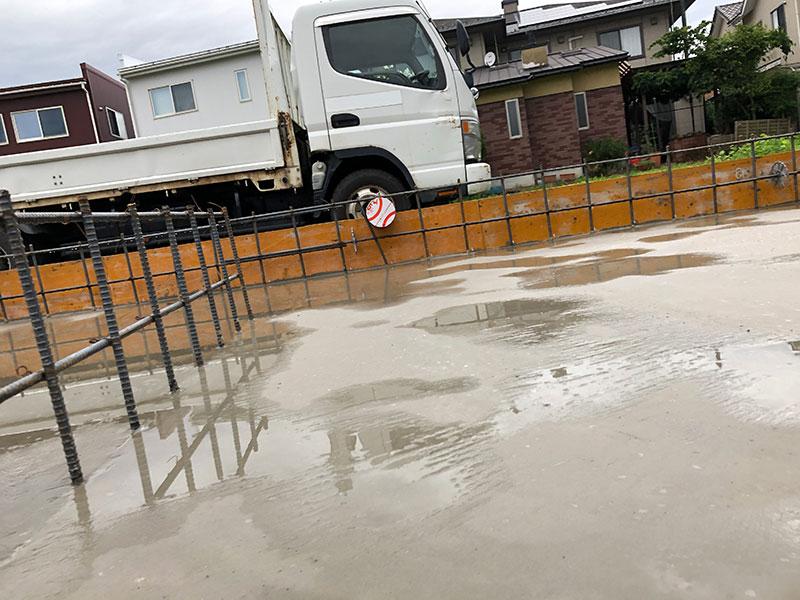新設・給水管引き込み工事 福井市 K様邸