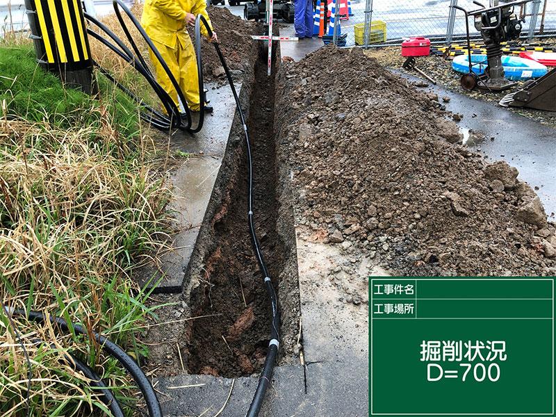 給水管引き込み工事 福井市 Y様邸