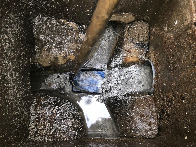 キッチンの排管つまり抜き工事(名古屋市)