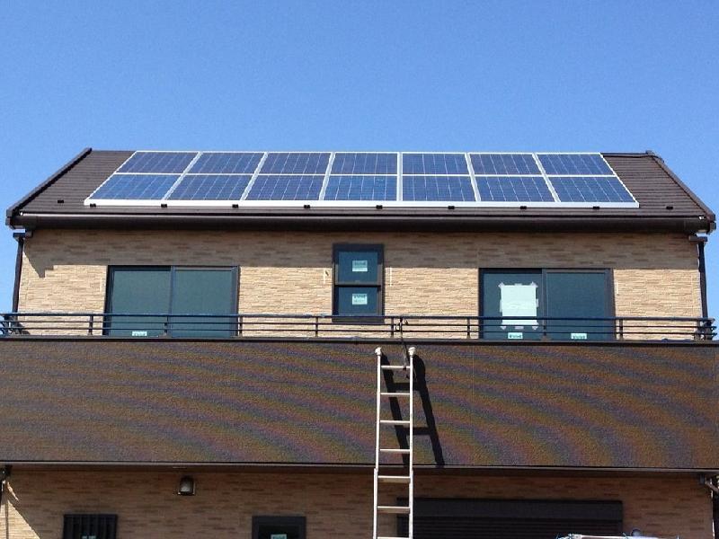 太陽光発電設置 全景1