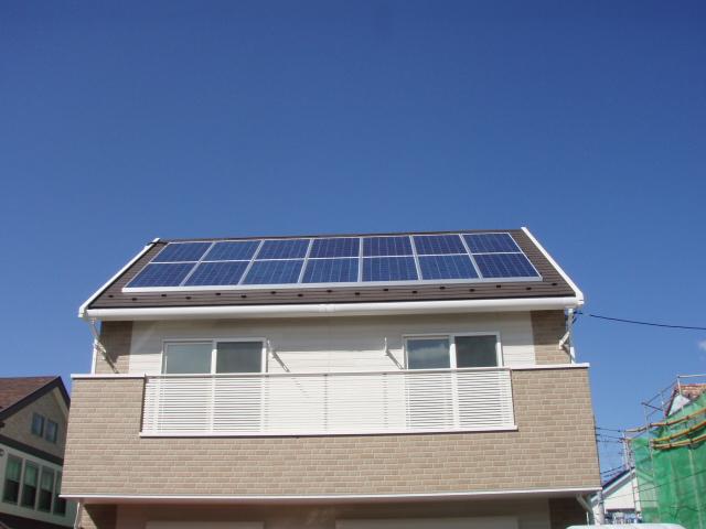 太陽光発電設置 全景2