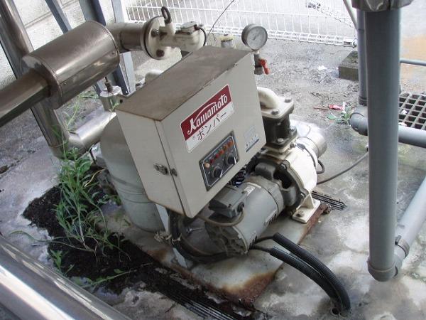 給水ポンプユニット 交換工事 2 工事前 2