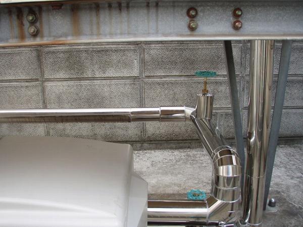 給水ポンプユニット 交換工事 2 配管工事 2
