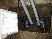 排水ポンプ交換工事