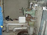 排水ポンプ交換工事 交換前