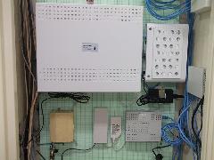 群馬県 電話主装置 取り付け工事