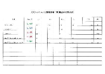 調査集計表参考例