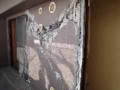 東日本大震災に伴う震災復旧工事 マンション