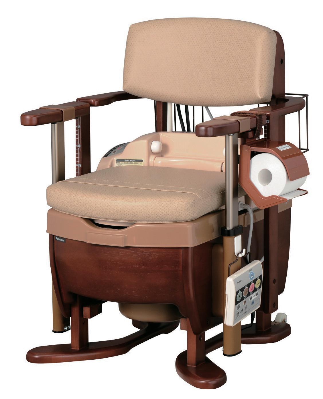 家具調トイレ<座楽> シャワポットLS-H 肘掛昇降タイプ