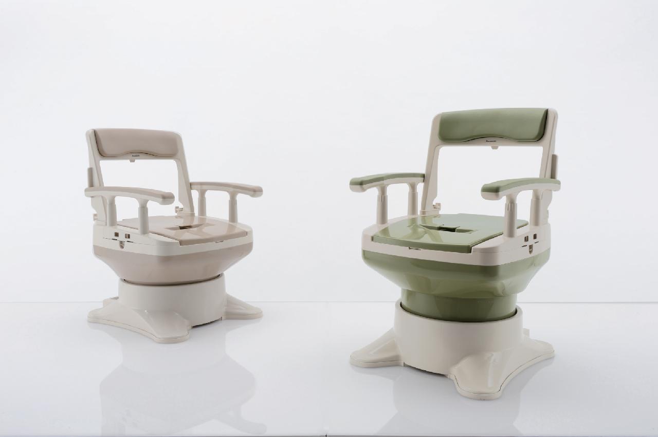ポータブルトイレ<座楽> アウーネ 標準タイプ