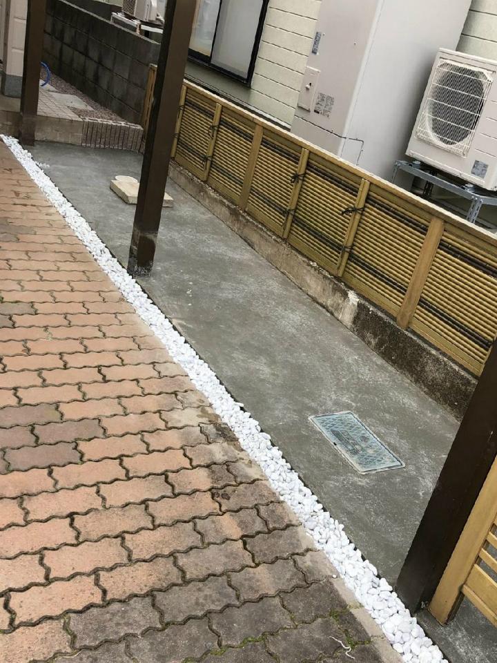 高岡市 外構 エクステリア工事施工後