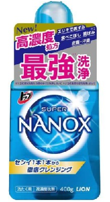 ライオン トップ スーパーナノックス(NANOX)400g本体