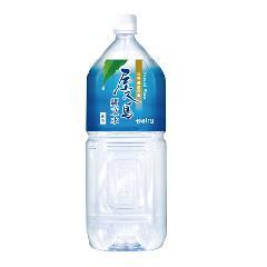 南日本酪農協同 世界遺産の島 屋久島 縄文水 (2Lペットボトル×6)1ケース