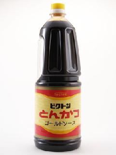 加賀屋醤油 ビクトン とんかつ ゴールドソース 1.8Lペットボトル
