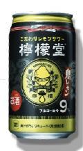 コカ・コーラ檸檬堂 鬼レモン(Alc9%)(レモン果汁17%)350ml 1ケース