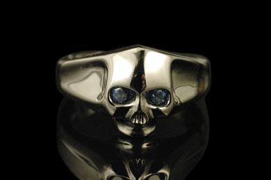 PUERTA DEL SOL R447BK Large Skull