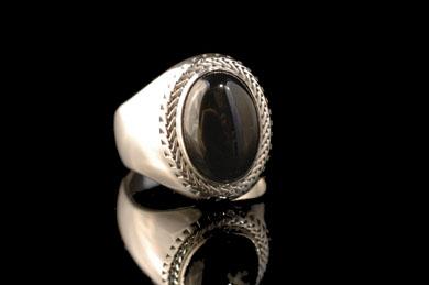 SHAMBALLA  Racial Onyx Ring R-039