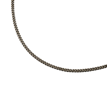 SILVER925 OX(燻し)CHAIN CD35 40cm