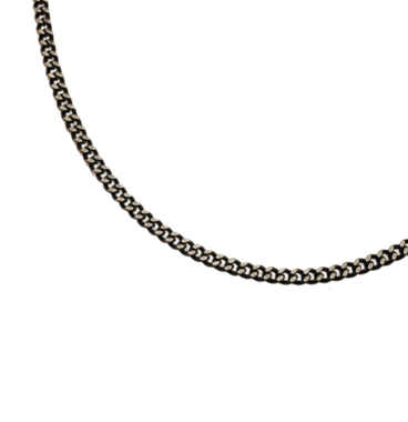 SILVER925 OX(燻し)CHAIN CD50 45cm