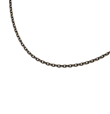 SILVER925 OX(燻し)CHAIN CL35 50cm
