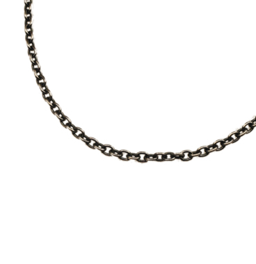 SILVER925 OX(燻し)CHAIN CL50 50cm