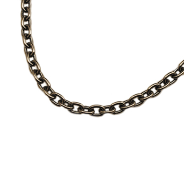 SILVER925 OX(燻し)CHAIN CL80 50cm