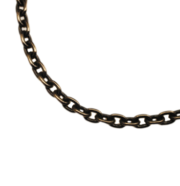 SILVER925 OX(燻し)CHAIN CL100 40cm