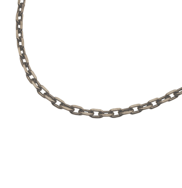 SILVER925 OX(燻し)CHAIN CL80/4C 45cm