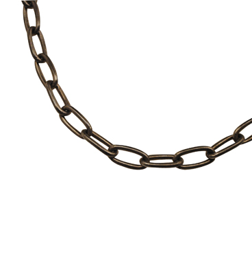 SILVER925 OX(燻し)CHAIN LCL100 40cm