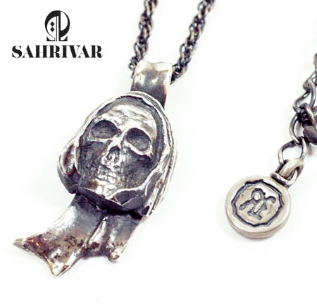 SAHRIVAR sn11s10a Holy Skull Necklace