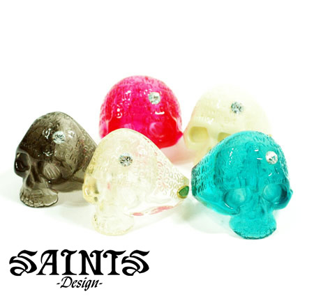 SAINTS ssr-25r Resin Skull
