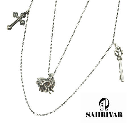 SAHRIVAR SN25S12S Love Charm Necklace
