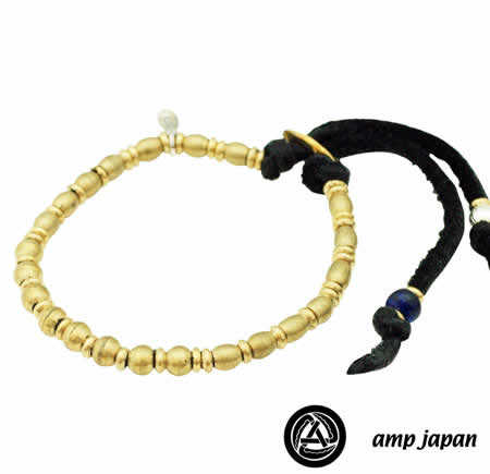 amp japan  11ap-712br indian beads bracelet
