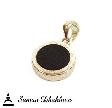 Suman Dhakhwa SD-P82ONX  Eclipse Pendant w/Onyx
