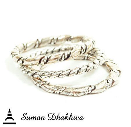 Suman Dhakhwa SD-R116 Twist 3 Set Ring