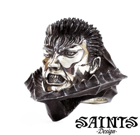 SAINTS BSS-R-02 BERSERK×SAINTS ガッツシルバーリング 狂戦士の甲冑