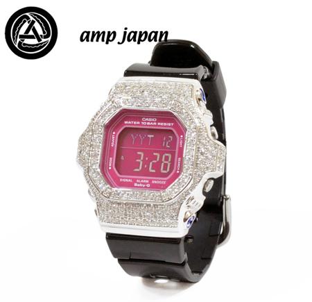 amp japan Baby-G 10AD-560 BK/PK