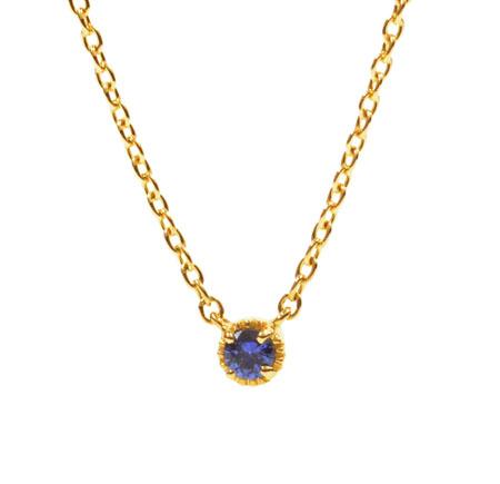 ENO-03/K18 Neckrace Sapphire