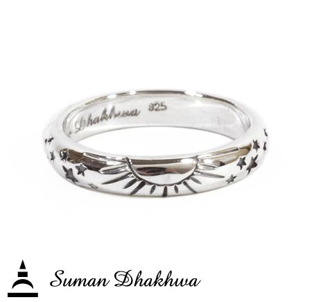 "Suman Dhakhwa SD-R123 "" Valhalla Collection "" Universe Ring"