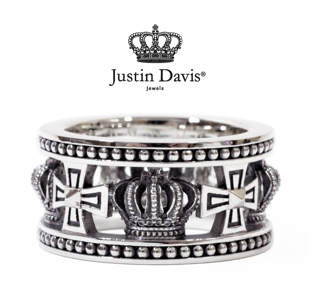 Justin Davis srj175 MEDIEBAL WEDDING BAND STOCK