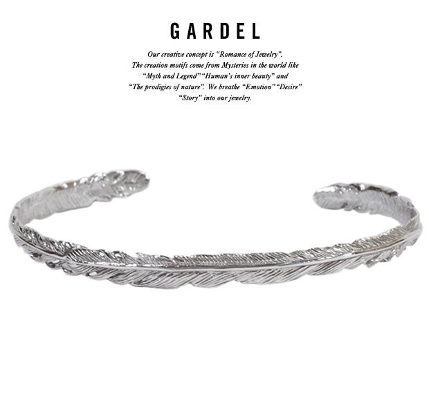 GARDEL gdb033 NATURAL FEATHER BRACELET