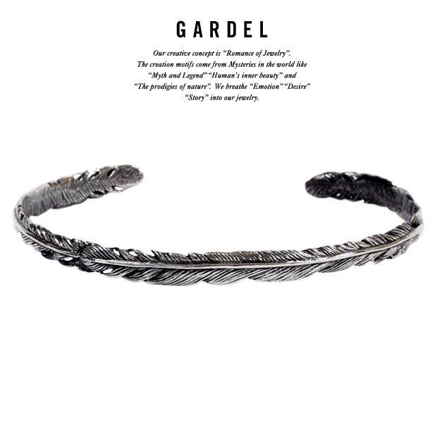 GARDEL gdb033ox NATURAL FEATHER BRACELET