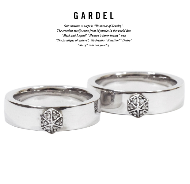 GARDEL gdr020 ONE STUDS RING