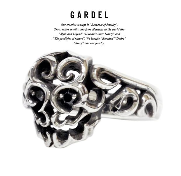GARDEL gdr046 RUFEN SKULL RING