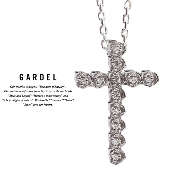GARDEL gdp026 ROSA CROSS pendant