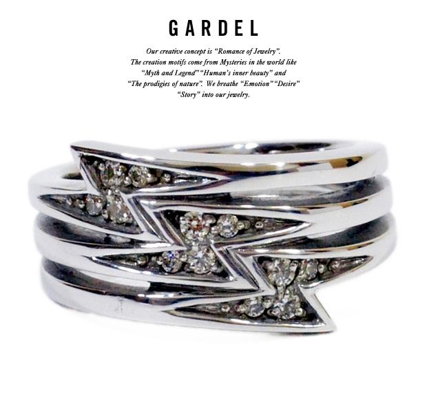GARDEL gdr052 TRINITY BLITZ RING