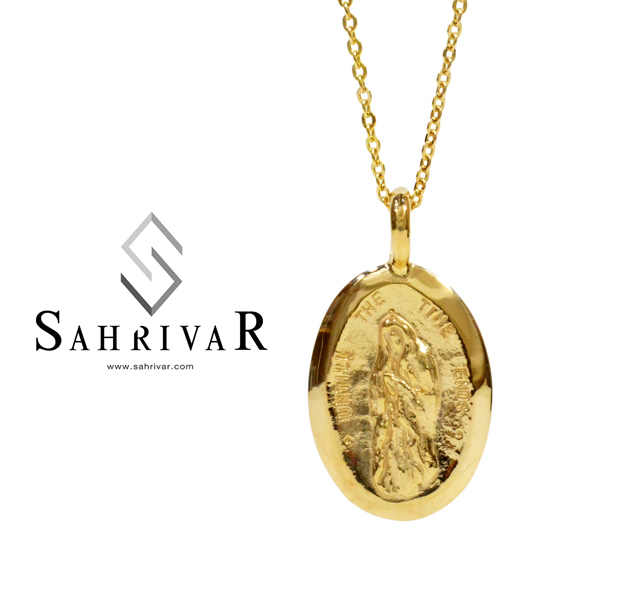SAHRIVAR SN32S12AG Medal Necklace
