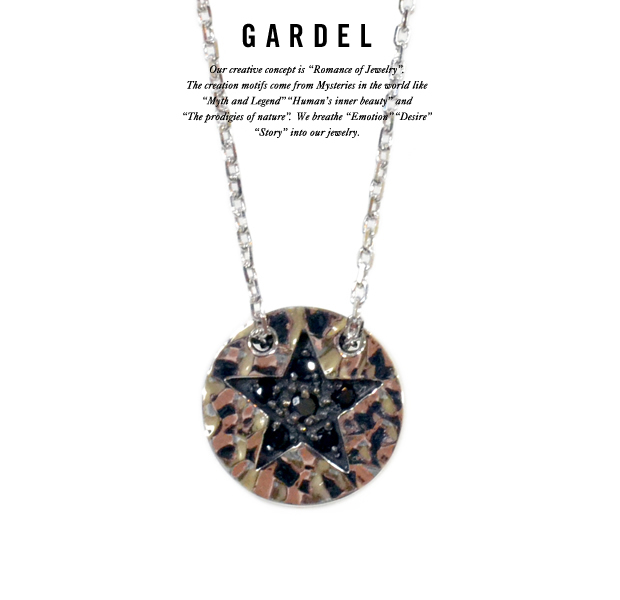 GARDEL gdp071 HAMMER STAR NECKLACE